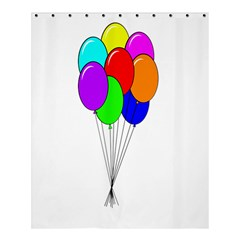 Colorful Balloons Shower Curtain 60  X 72  (medium)
