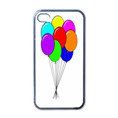 Colorful Balloons Apple Iphone 4 Case (black)