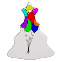 Colorful Balloons Ornament (Christmas Tree)