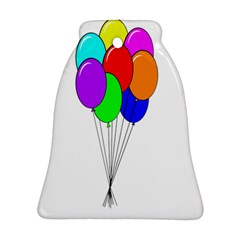 Colorful Balloons Ornament (Bell)