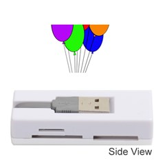 Colorful Balloons Memory Card Reader (Stick)