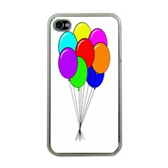 Colorful Balloons Apple iPhone 4 Case (Clear)