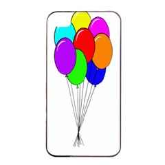 Colorful Balloons Apple Iphone 4/4s Seamless Case (black)