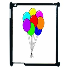 Colorful Balloons Apple iPad 2 Case (Black)