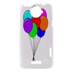 Colorful Balloons HTC One X Hardshell Case