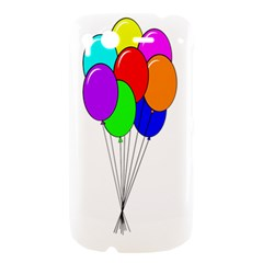 Colorful Balloons HTC Desire S Hardshell Case