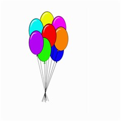 Colorful Balloons Large Garden Flag (Two Sides)