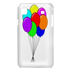 Colorful Balloons Samsung Galaxy S i9008 Hardshell Case