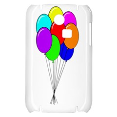 Colorful Balloons Samsung S3350 Hardshell Case