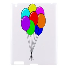 Colorful Balloons Apple iPad 3/4 Hardshell Case
