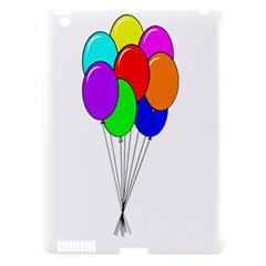 Colorful Balloons Apple iPad 3/4 Hardshell Case (Compatible with Smart Cover)