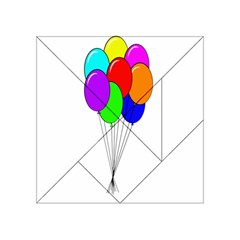 Colorful Balloons Acrylic Tangram Puzzle (4  X 4 )