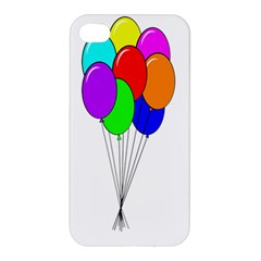 Colorful Balloons Apple Iphone 4/4s Premium Hardshell Case