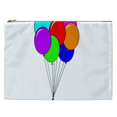 Colorful Balloons Cosmetic Bag (xxl)