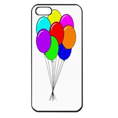 Colorful Balloons Apple Iphone 5 Seamless Case (black)