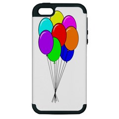 Colorful Balloons Apple iPhone 5 Hardshell Case (PC+Silicone)