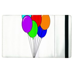 Colorful Balloons Apple iPad 2 Flip Case