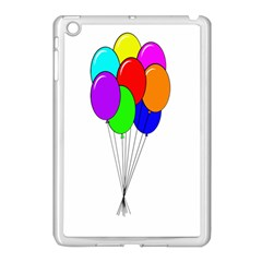 Colorful Balloons Apple Ipad Mini Case (white)