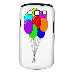 Colorful Balloons Samsung Galaxy S III Classic Hardshell Case (PC+Silicone)
