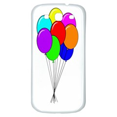 Colorful Balloons Samsung Galaxy S3 S Iii Classic Hardshell Back Case
