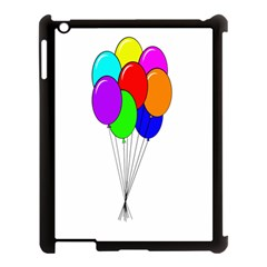 Colorful Balloons Apple iPad 3/4 Case (Black)