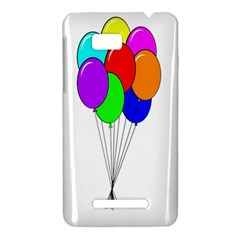 Colorful Balloons HTC One SU T528W Hardshell Case
