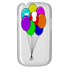Colorful Balloons Samsung Galaxy S3 Mini I8190 Hardshell Case
