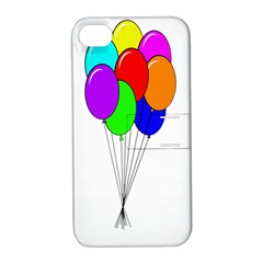 Colorful Balloons Apple iPhone 4/4S Hardshell Case with Stand