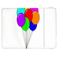 Colorful Balloons Samsung Galaxy Tab 7  P1000 Flip Case