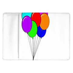 Colorful Balloons Samsung Galaxy Tab 10.1  P7500 Flip Case