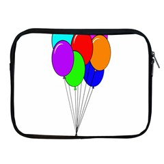 Colorful Balloons Apple Ipad 2/3/4 Zipper Cases
