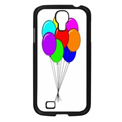 Colorful Balloons Samsung Galaxy S4 I9500/ I9505 Case (Black)