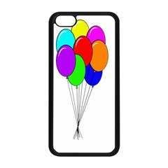 Colorful Balloons Apple iPhone 5C Seamless Case (Black)