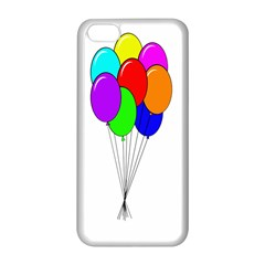 Colorful Balloons Apple Iphone 5c Seamless Case (white)