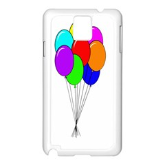 Colorful Balloons Samsung Galaxy Note 3 N9005 Case (White)