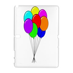 Colorful Balloons Samsung Galaxy Note 10.1 (P600) Hardshell Case
