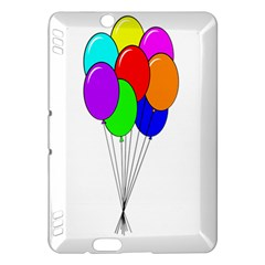 Colorful Balloons Kindle Fire HDX Hardshell Case