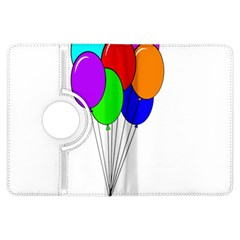 Colorful Balloons Kindle Fire HDX Flip 360 Case