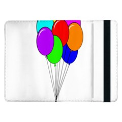 Colorful Balloons Samsung Galaxy Tab Pro 12.2  Flip Case