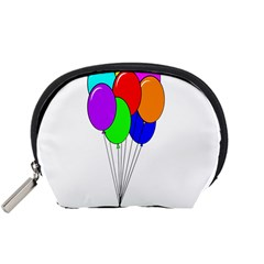 Colorful Balloons Accessory Pouches (small)