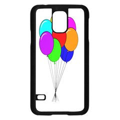 Colorful Balloons Samsung Galaxy S5 Case (Black)