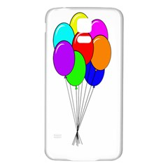 Colorful Balloons Samsung Galaxy S5 Back Case (White)