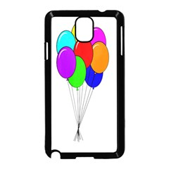 Colorful Balloons Samsung Galaxy Note 3 Neo Hardshell Case (black)