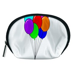 Colorful Balloons Accessory Pouches (Medium)