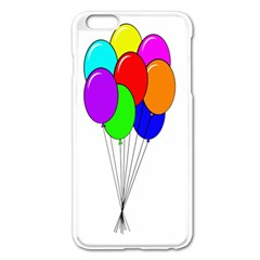 Colorful Balloons Apple iPhone 6 Plus/6S Plus Enamel White Case