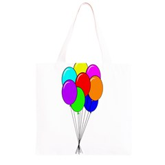 Colorful Balloons Grocery Light Tote Bag