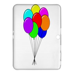 Colorful Balloons Samsung Galaxy Tab 4 (10.1 ) Hardshell Case