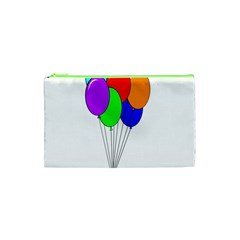 Colorful Balloons Cosmetic Bag (xs)