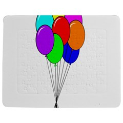 Colorful Balloons Jigsaw Puzzle Photo Stand (Rectangular)