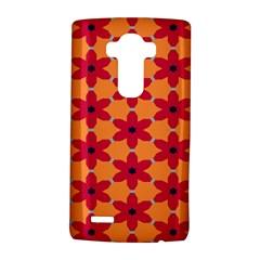 Red flowers pattern                                                                            LG G4 Hardshell Case